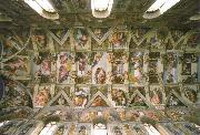 the sistine chapel ceiling, Michelangelo Buonarroti