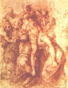Study for a Deposition, Michelangelo Buonarroti