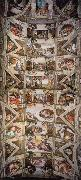 Ceiling of the Sistine Chapel, Michelangelo Buonarroti