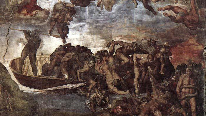 Michelangelo Buonarroti Last Judgment