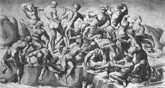 Michelangelo Buonarroti Battle of Cascina