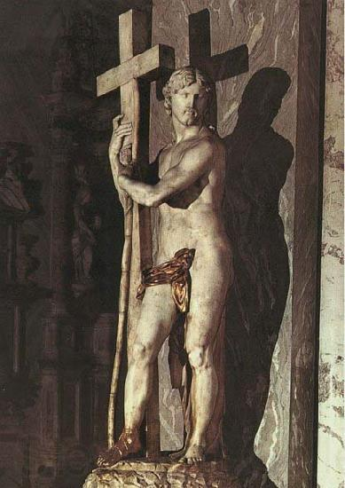Michelangelo Buonarroti Christ Carrying the Cross