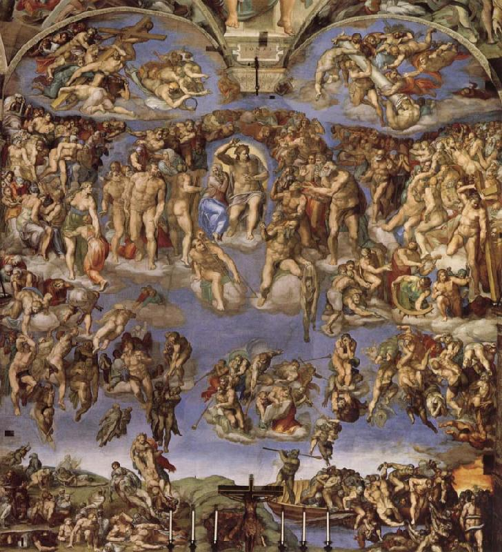 Michelangelo Buonarroti Last Judgement