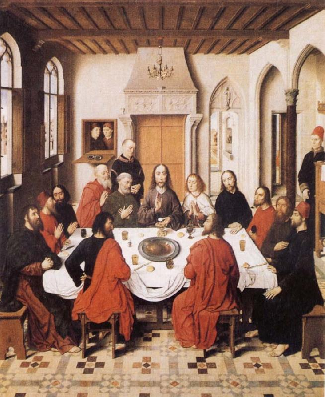 Last Supper Dieric Bouts Open picture USA Oil Painting ...